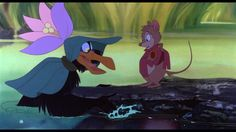 Secret of Nimh, Jeremy and Mrs. Brisby