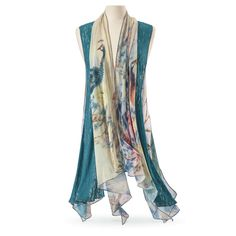Imperial Peacock Vest - Women's Romantic & Fantasy Inspired Fashions