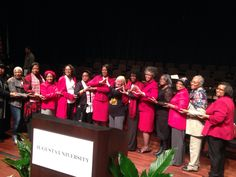 Joan with her Sorors of Delta Signa Theta at Augusta University. #DST