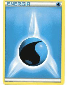 Carta Pokemon Energia Acqua XY nuova italiana comune