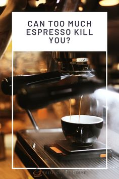 Not only is it aromatic and delicious, but it can also make the difference between an afternoon spend napping and one being productive. With all its benefits, are there any downsides to regularly drinking espresso? Can espresso kill you? Drinking espresso is very unlikely to kill you. You are way more likely to overdose on caffeine by taking supplements than simply by drinking espresso. #coffee #espresso Espresso Shot, Espresso Coffee, Black Coffee, Types Of Coffee Beans, Different Types Of Coffee, Coffee Cream, Coffee Type, Effects Of Drinking, Acquired Taste