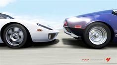 1971 De Tomaso Pantera & 2005 Ford GT