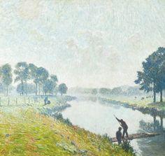 Emile Claus  De overzet
