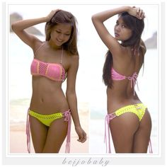 Kara bikini by beijobaby on Etsy, $185.00