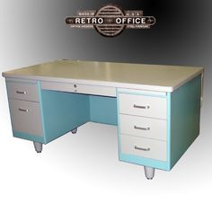 Steelcase Desk Refinish On Pinterest Desks Steel And