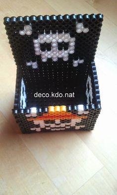 DECO.KDO.NAT: Perles hama: boîte one piece et sous verres