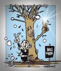 Taksim Gezi Parkı direnişin de ZAFER :)