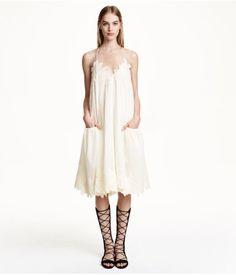 H&M Wijde katoenen jurk 79,99