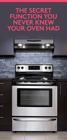 The Secret Function You Never Knew Your Oven Had   That drawer underneath your stove isn't for storage.