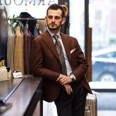 Qemal of @liverano_liverano   Trunk show today and tomorrow.   #liverano #thearmoury  (at The Armoury New York)