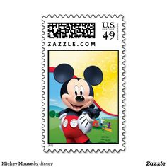 Mickey Mouse Postage Stamps