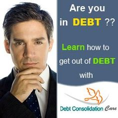 Learn how to get out of debt quickly, with the 5 major ways of solving debt problems.