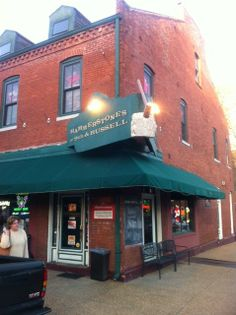 We have not written a review on Hammerstones, but they will be referenced in an upcoming article about the Soulard area.  I just love these old buildings!