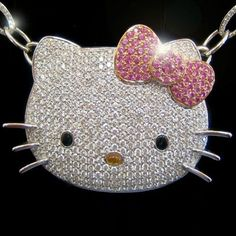 img i think im in heavin!  love this hello kitty necklace