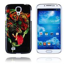 PictureCase (Mørk Tiger) Samsung Galaxy S4 Case