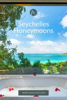 With an incredible setting for romance, adventure and relaxation, our Seychelles Honeymoons are some of the world's most romantic and secluded escapes. Amazing Gardens, Beautiful Gardens, Outdoor Venues, Beach Holiday, Diy Garden Decor, Most Romantic, Luxury Resorts, Boutique Hotels, Seychelles Honeymoons