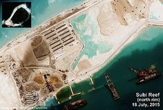 South China Sea: Satellite Imagery Shows Intensive Chinese Building