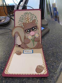 Calla Lily Studio Blog: Squirrel Good-bye!