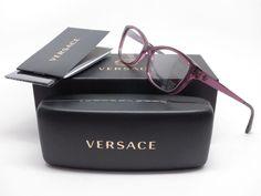 d4f1113699bd Versace VE 3236 5220 Transparent Plum Eyeglasses 54mm