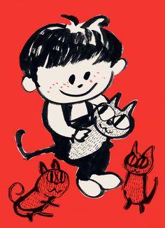 when one was a boy by satoshi sugiura, via Behance