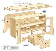Looking for the perfect DIY project? Build this handsome TV stand in just one weekend.