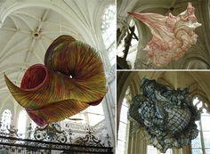 Peter Gentenaar maakt sierlijke luchtsculpturen van zelfgemaakt papier | The Creators Project