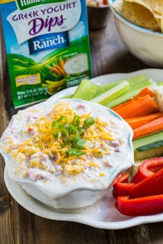 Ranch Dip on Pinterest | Layered Nacho Dip, Sausage Dip and Bagel Dip ...