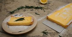 lemon pie with rosemary crust / Laskominy od Maryny Sweet Recipes, Cake Recipes, Camembert Cheese, Lemon, Pie, Food, Fruit Cakes, Tarts, Mascarpone