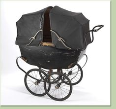 Twin Baby Carriage, early 1900s. [I'll just put this here for later.] #1900s #babies