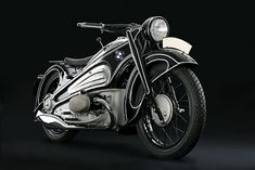 Still crazy after all these years: This 1934 BMW R7 motorcycle has just won the German Motorcycles category at the 2012 Pebble Beach Concours d'Elegance.