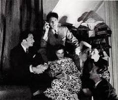 Salvador Dali, Jean Covteau, Coco Chanel, Gala et... en 1940