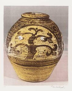 Bernard Leach 'Tree Jar', 1973–4 © The estate of Bernard Leach