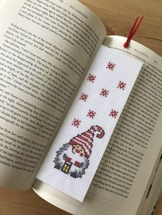 A personal favorite from my Etsy shop https://www.etsy.com/listing/574514019/bookmark-finished-cross-stitch-laminated