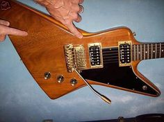 1979 Gibson Explorer with a Kahler!