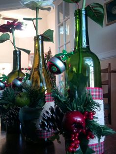 Wine bottle chandelier bottle chandelier and recycled for Recycling wine bottles creatively