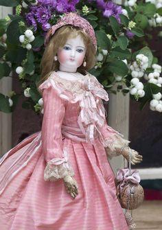 46 см Модная Кукла Готье, 1870е годы