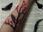 Freaking AMAZING!!! My favorite Edgar Allen Poe story and Cherry Blossoms!!