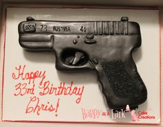 Glock cake