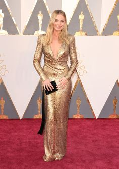 Margot Robbie #TomFord #Oscars 2016