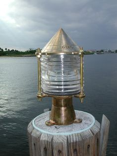Key West Nautical Piling Dock Light