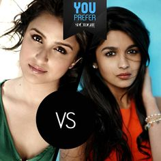 #ParineetiChopra or #AliaBhatt - who would you place your bets on?