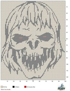 GHOUL 2 by ACCALIA -- WALL HANGING