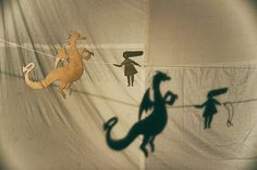 puppets for shadow play by nanuka,  Prototyp 2015 Brno