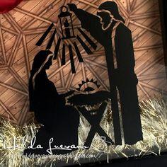 Hilda Designs: Shadow Box Navideño con Vinil archivo de SnapDragon Snippets