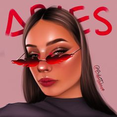 Girl aries Aries Zodiac, Zodiac Signs, Halloween Face Makeup, Illustrations, Star Constellations, Horoscopes, Aries, Zodiac Mind