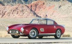 1957 Ferrari 410 Superamerica Coupe by Scaglietti Lamborghini, Ferrari Car, Bugatti, Maserati, Alfa Romeo, Jaguar, Mercedes Benz, Automobile, Porsche