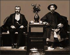 Ulysses S. Grant & Li Hung Chang, Tientsin, China [1879] Attribution Unk [RESTORED] by ralphrepo, via Flickr