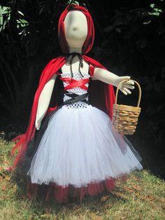 Little Red Riding Hood Costume. $45.00, via Etsy.