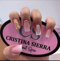 Short Nail Designs, Nail Art Designs, Simple Nails, Short Nails, Birthday Party Themes, Acrylic Nails, Beauty, Nice, Pretty Nails