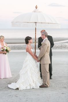 Gold + Blush Hilton Head Island Wedding Read more - http://www.stylemepretty.com/south-carolina-weddings/hilton-head-island/2014/01/27/gold-blush-hilton-head-island-wedding/
